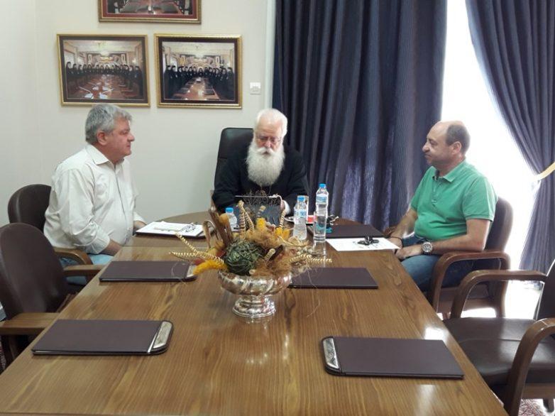 Συνεργασία Εκκλησίας με τους δ/ντές Εκπαίδευσης Μαγνησίας