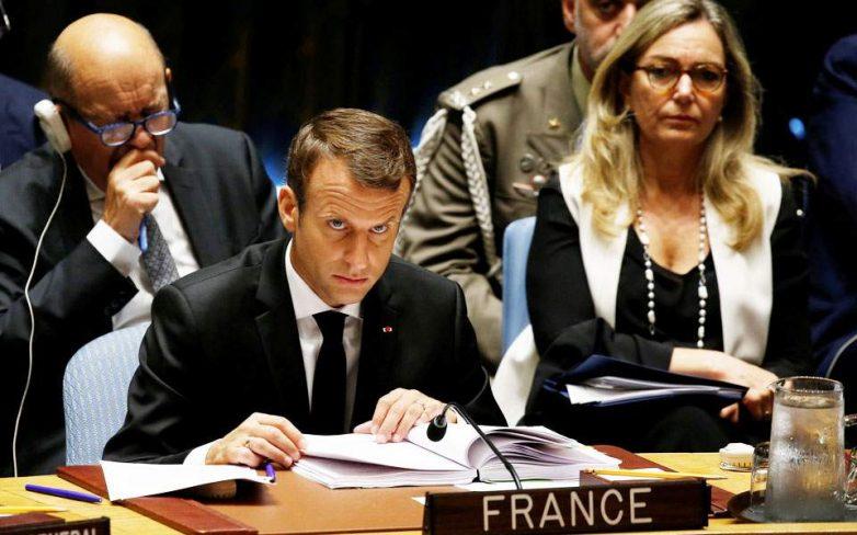 Μακρόν: Ο Τραμπ είναι υπερβολικά «κατηγορηματικός» στις επικρίσεις του εναντίον του ΟΗΕ
