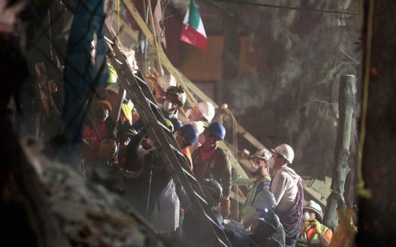 Μεξικό: Στους 272 οι νεκροί – Εξασθενούν οι ελπίδες για τυχόν επιζώντες