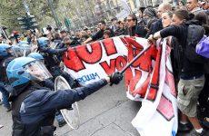Τορίνο: Προσαγωγές και τραυματισμοί στις διαδηλώσεις κατά της συνόδου των G7