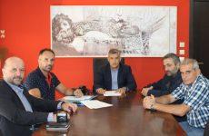 Τρία νέα έργα ξεκινούν για την Περιφερειακή Ενότητα Λάρισας