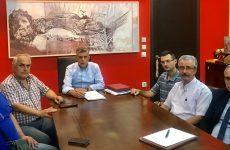 Συνάντηση Κώστα Αγοραστού με τον σύλλογο πολυτέκνων Λάρισας