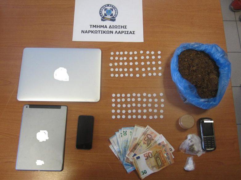 Συνελήφθη με «ecstasy» στη Λάρισα