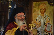 Στον Μητροπολιτικό ναό ο επίσκοπος Καρπασίας Χριστοφόρος