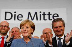 Γερμανικές εκλογές: Νίκη-εφιάλτης για Μέρκελ, συντριβή Σουλτς, θριαμβευτική άνοδος για AfD