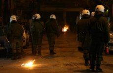 Μολότοφ και επεισόδια στο συλλαλητήριο για τη συμπλήρωση τεσσάρων ετών από τη δολοφονία Φύσσα