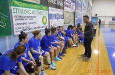 Αγιασμός του γυναικείου τμήματος μπάσκετ του Γ.Σ.Β. «Η ΝΙΚΗ»