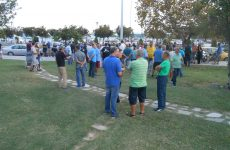 Συγκέντρωση διαμαρτυρίας φιλάθλων της Νίκης για το ΝΠΣ
