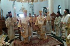 Ο μητροπολίτης Καισαριανής Δανιήλ στην πανήγυρη της Μονής Παμμεγίστων Ταξιαρχών Πηλίου