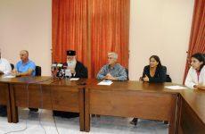 Αγιασμός για το τριετές πρόγραμμα κοινωνικής παρέμβασης σε Αλιβέρι και Αγία Παρασκευή