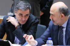 Η τρίτη αξιολόγηση στο επίκεντρο της συνάντησης Τσακαλώτου – Μοσκοβισί
