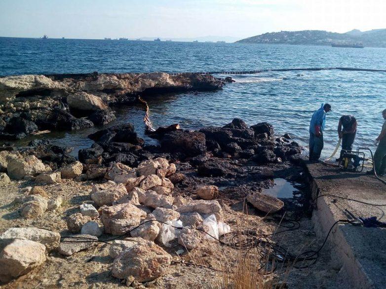 Οι Οικολόγοι Πράσινοι Αττικής στο τόπο της οικολογικής καταστροφής
