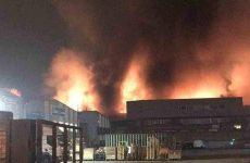 Βρετανία: Μεγάλη πυρκαγιά ξέσπασε σε αποθήκη στο Τότεναμ