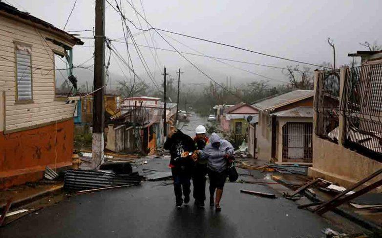 Χωρίς ρεύμα το Πουέρτο Ρίκο λόγω του τυφώνα «Μαρία», εννέα νεκροί στη Δομινίκα