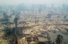 Τεράστια οικονομική και οικολογική καταστροφή στην Καλιφόρνια – Στους 17 οι νεκροί