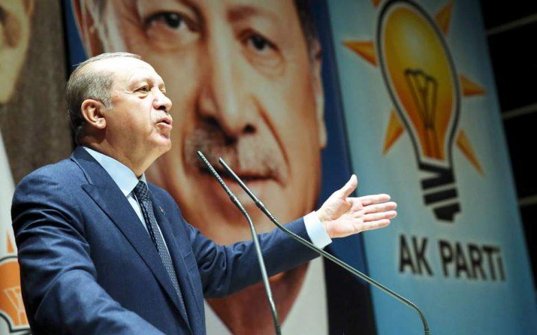 Ερντογάν: Η αναγνώριση της Ιερουσαλήμ εξυπηρετεί την τρομοκρατία