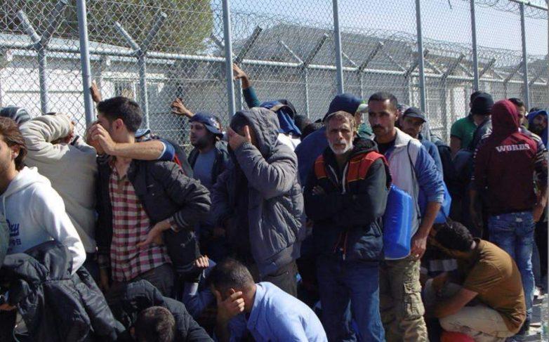 Μυτιλήνη: Κινητοποιήσεις φιλοξενουμένων στον καταυλισμό της Μόριας με αίτημα τις ασφαλείς συνθήκες διαμονής