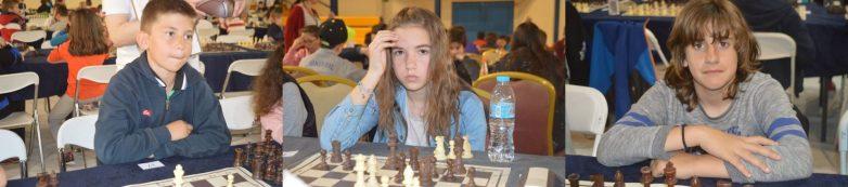 Τρία Βολιωτάκια στην πρώτη σκακιστική δεκάδα της Ελλάδας