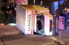 Φορτηγό επιχείρησε να πέσει πάνω σε πεζούς στην πόλη Εντμοντον του Καναδά