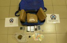 Συνελήφθησαν τέσσερα άτομα στο Βόλο  για διακίνηση κάνναβης