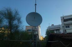 Δολιοφθορά στην κεραία εκπομπής του ράδιο link της ΕΡΤ Βόλου
