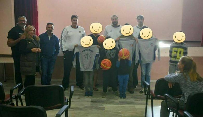 Στο Ορφανοτροφείο Βόλου το μπάσκετ της Νίκης Βόλου