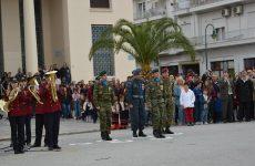 Η υφυπουργός Κατερίνα Παπανάτσιου εκπρόσωπος της κυβέρνησης στην παρέλαση