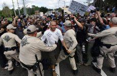 Οργισμένες διαδηλώσεις μετά από ομιλία εθνικιστή στο πανεπιστήμιο της Φλόριντα