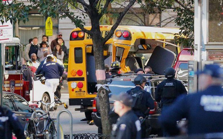 ΗΠΑ: Το Ισλαμικό Κράτος ανέλαβε την ευθύνη για την τρομοκρατική επίθεση στο Μανχάταν