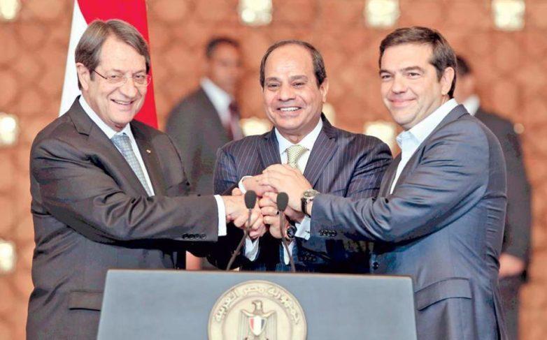Ενέργεια, οικονομία και γεωπολιτική στην συνάντηση Τσίπρα – Αναστασιάδη – Σίσι