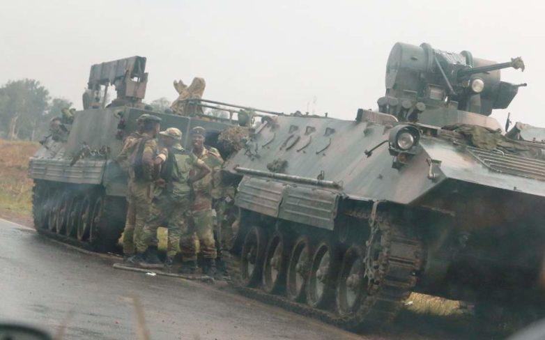 Ζιμπάμπουε: Σε εξέλιξη πραξικόπημα του στρατού – Απέκλεισαν υπουργεία, κοινοβούλιο και δικαστήρια