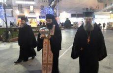 Yποδοχή της Ταμίας Κάρας του Αγίου Νικολάου Πλανά στον Βόλο