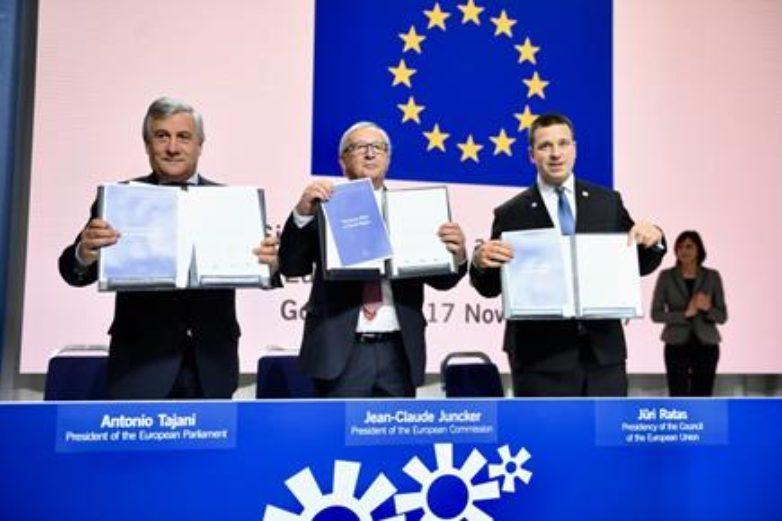 Διακήρυξη του Ευρωπαϊκού Πυλώνα Κοινωνικών Δικαιωμάτων