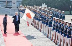 Τραμπ και Αμπε συμφωνούν για τη Βόρεια Κορέα