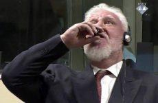 Πέθανε ο πρώην ηγέτης των Κροατών της Βοσνίας που ήπιε δηλητήριο μόλις άκουσε την ποινή του