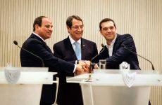 Δέσμευση Ελλάδας, Κύπρου και Αιγύπτου για ταχεία οριοθέτηση των θαλάσσιων συνόρων