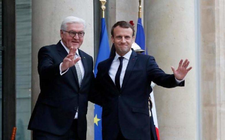 Μακρόν – Σταϊνμάιερ: Επειγόντως αναγκαία η «επανίδρυση» της Ευρώπης