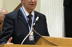 Τιμήθηκε ο Κωνσταντινουπολίτης πρωτοψάλτης Δημοσθένης Παϊκόπουλος