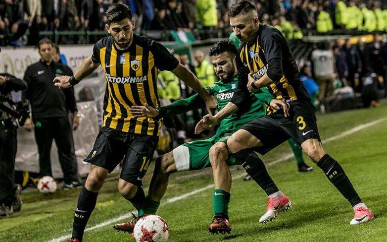 Με γκολ του Λιβάγια στο τελευταίο λεπτό, 1-1 Παναθηναϊκός – ΑΕΚ