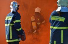 Φωτιά σε οικόπεδο στις Μικροθήβες