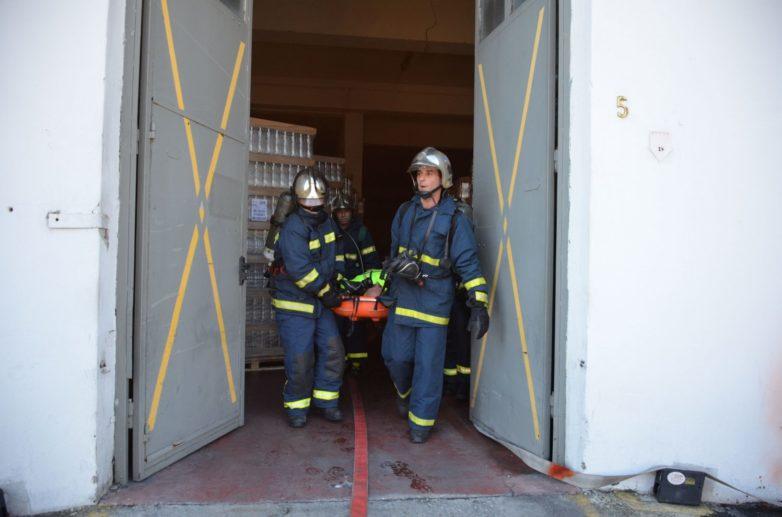 Άσκηση ετοιμότητας Π.Υ. στις εγκαταστάσεις αποθήκευσης υγρών καυσίμων «ΕΛΙΝ»
