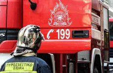 Καταστράφηκε αγροτικό όχημα από φωτιά στον Δρυμώνα Αλμυρού