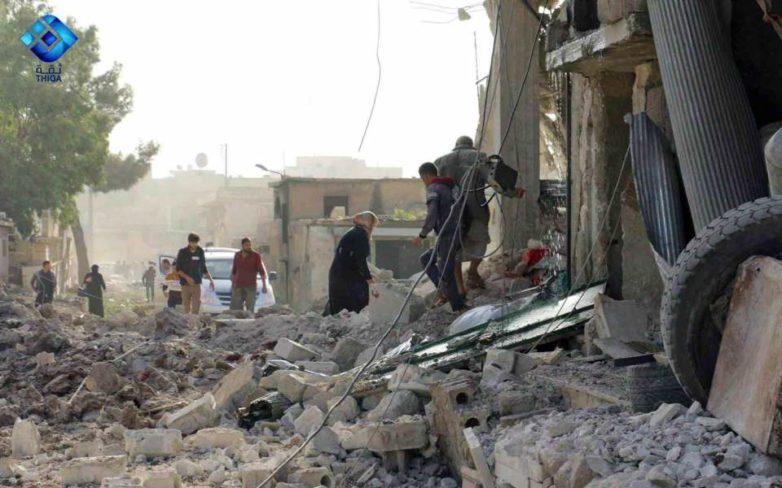 Συρία: Τουλάχιστον 53 άμαχοι νεκροί από αεροπορικές επιδρομές στο Χαλέπι