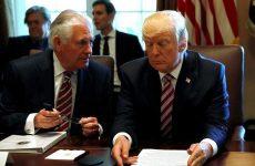 Τραμπ: Αβέβαιο το μέλλον του Τίλερσον στο Στέιτ Ντιπάρτμεντ