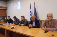Μικρή η συμμετοχή πολιτών στην εκδήλωση παρουσίασης του έργου στην Καραμπατζάκη