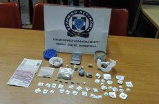 Συνελήφθη 26χρονος στο Βόλο με ποσότητες ηρωίνης και χασίς