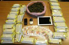 Συνελήφθη στη  Μαγνησία για  ναρκωτικά και για αφορολόγητο καπνό