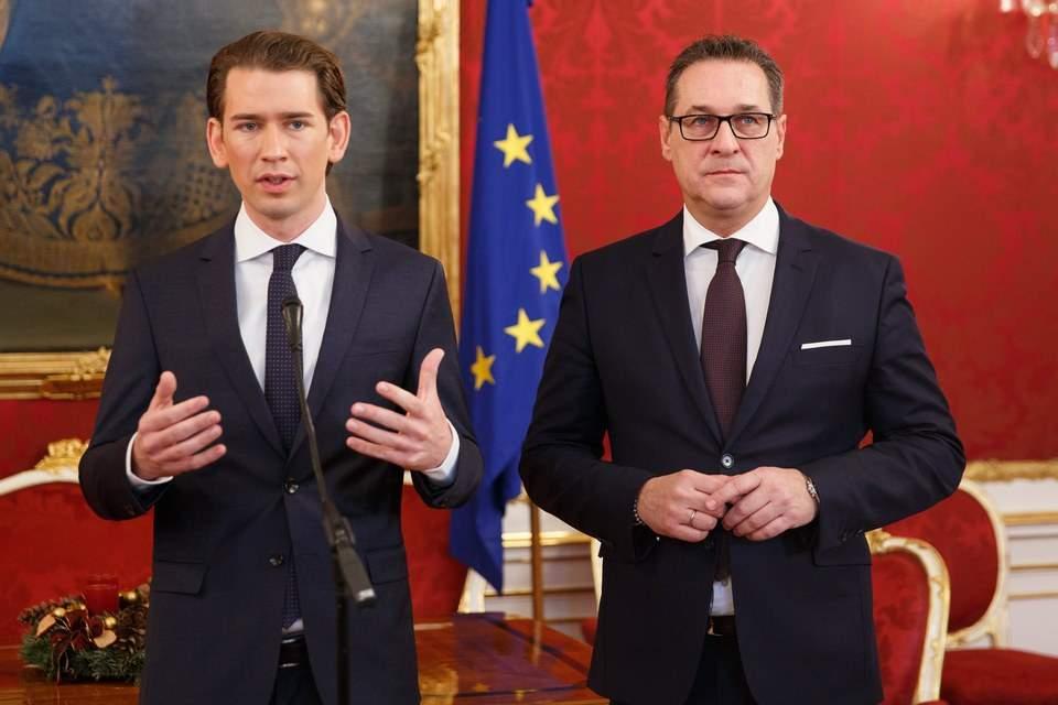 Αυστρία: H ακροδεξιά επιστρέφει στην εξουσία – αναλαμβάνει τα υπ. Εσωτερικών, Εξωτερικών και Αμυνας