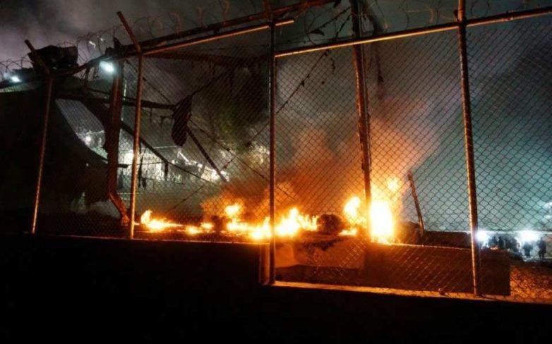 Μυτιλήνη: Τραυματίες και σοβαρά επεισόδια στον καταυλισμό της Μόριας