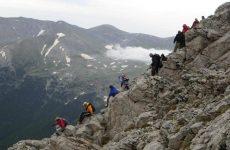 Δυνάμεις της ΕΜΑΚ απεγκλώβισαν δύο ορειβάτες στον Όλυμπο
